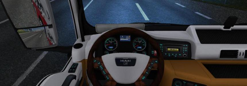 Man TGX interior by Hummer2905 v2.0