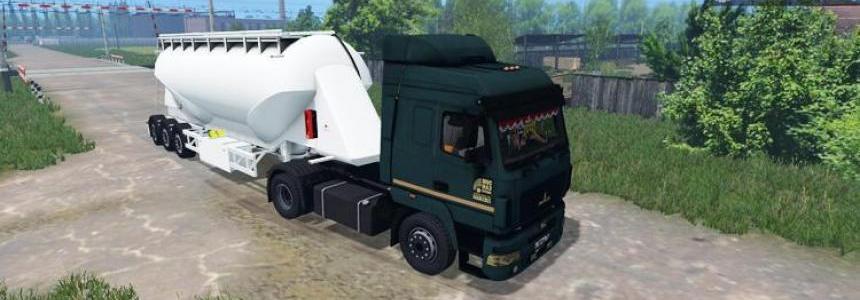 MAZ 5440 Truck v1.2