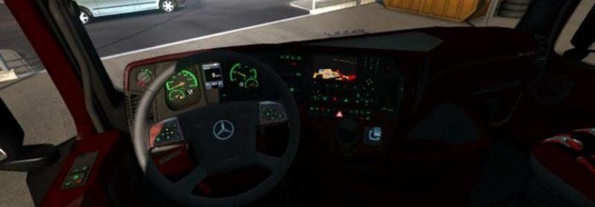 MB Actros 2014 Sound Interior v1.0