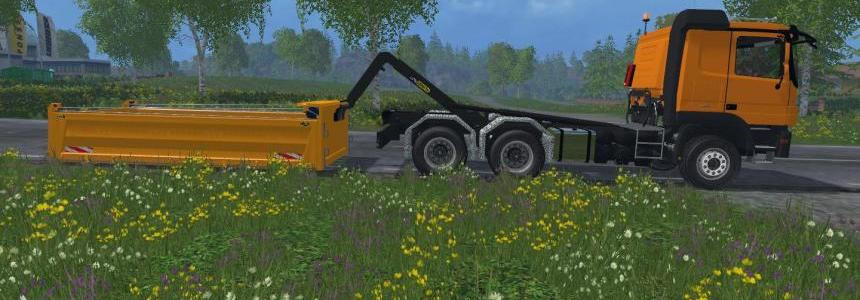 Mercedes Actros 6x4 HKL by NBM - Modding v1.0