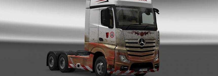 Mercedes Actros MP4 2014 Siba Surya Skin