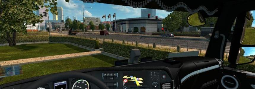 Mercedes Actros MP4 Interior v2.0