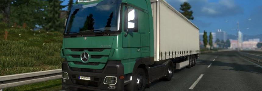 Mercedes Benz Actros MP3 V6 & V8 Sound mod v1.0