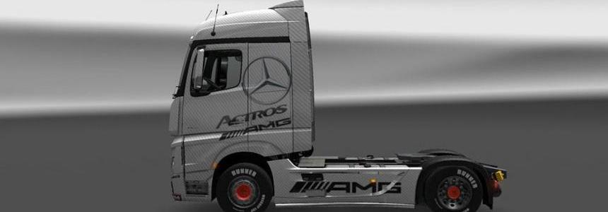 Mercedes Benz Actros MP4 AMG Skin