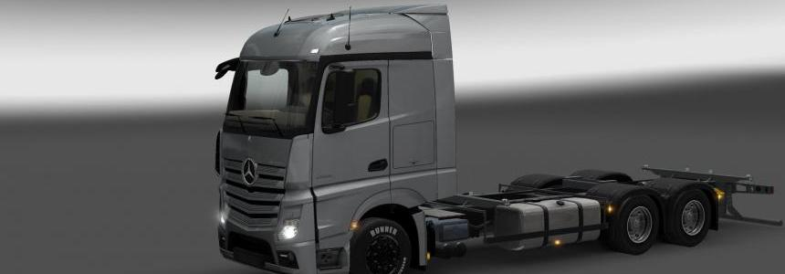 Mercedes-Benz Actros (MP4) RGD + Trailer v1.1