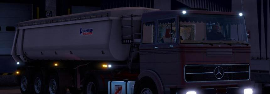 Mercedes Benz Old Trucks Pack 1.20