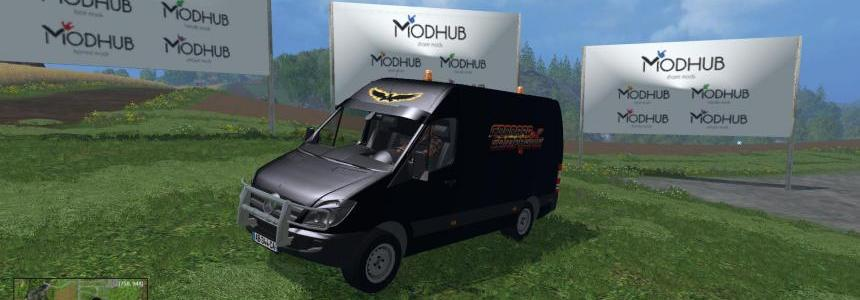 Mercedes sprinter service skin team c&c v1