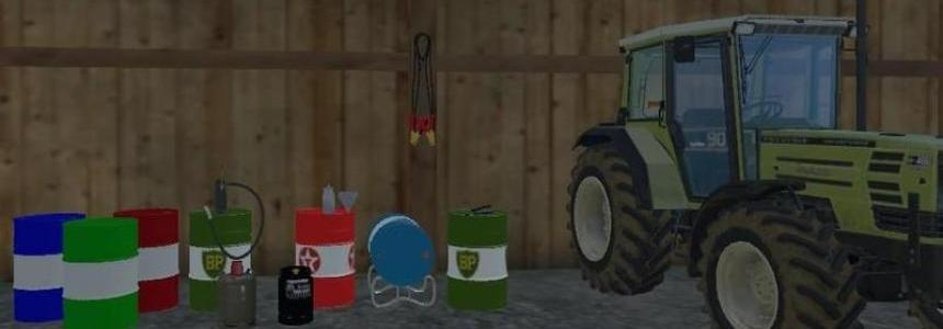 Metal drums and accessories v1.0