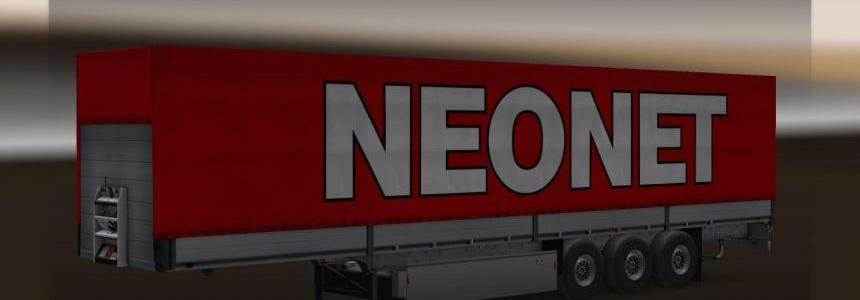 Neonet flatbed semi-trailer 1.20.1