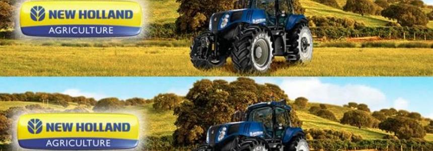 New Holland T8 420 Sound Update v1.0