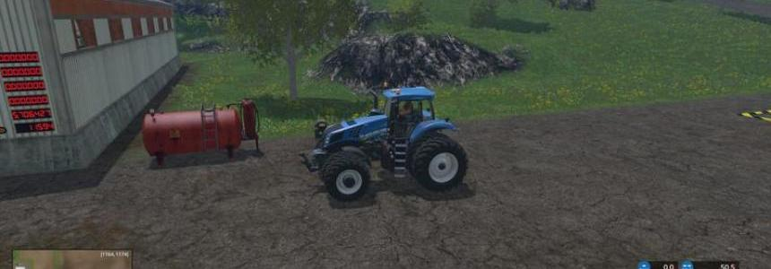 New Holland T8435 DW v3.0