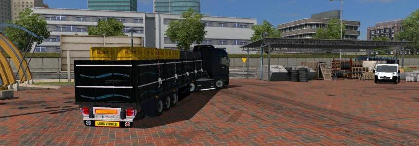 Pack Semi Plateau+Cargo 1.20