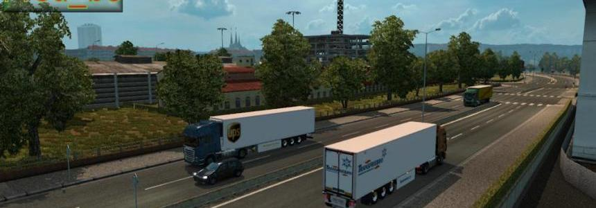 Painted Trailer Traffic by Fred_be V1.20