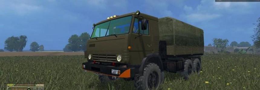 RUS Kamaz military truck v1.3