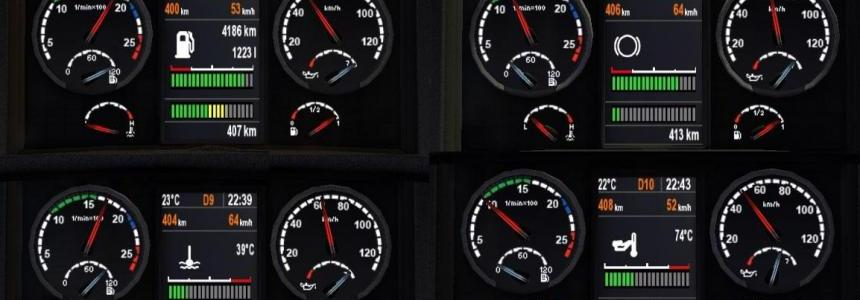 Scania Dashboard 1.20.x