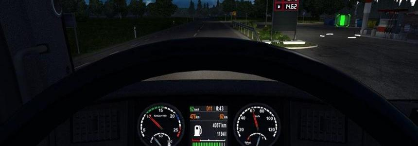 Scania Dashboard v1.1 updated