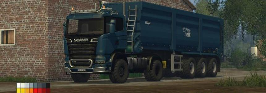 Scania R 730 Streamline Agro Truck v1.0 colorchoice