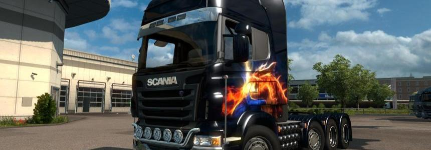 Scania R 8x4 v1.0