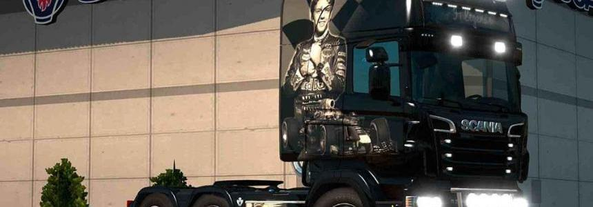 Scania RJL 1.4 F1 Legends Airbrush Skin