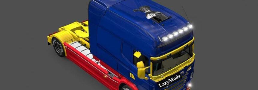 Scania RJL Longline Mihai Viteazu Skin