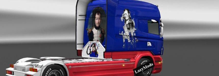Scania RJL Longline Napoleon Skin