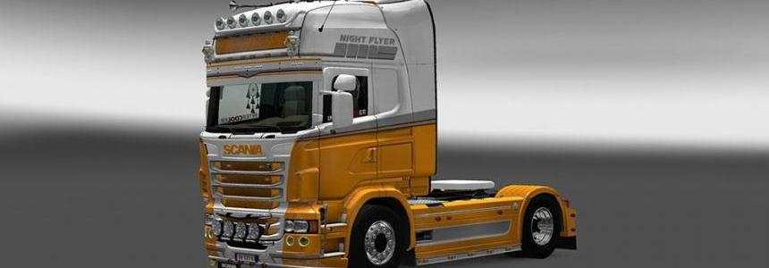 Scania RJL Night Flyer Skin