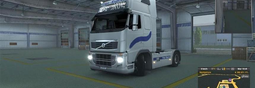 Scania, Volvo Frigo express Skin pack