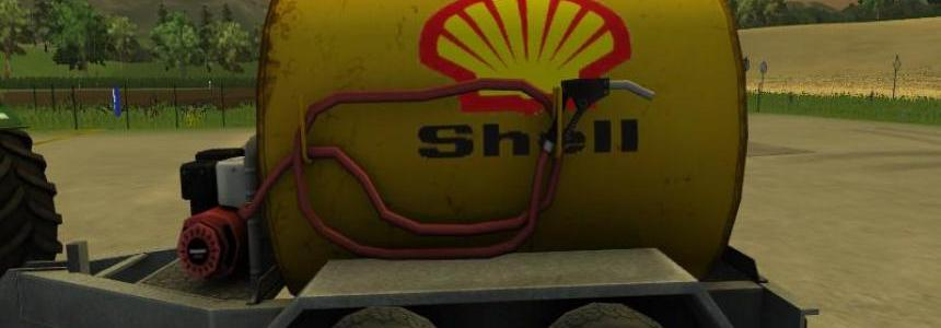 Shell texture for mobile fuel tank v1.0