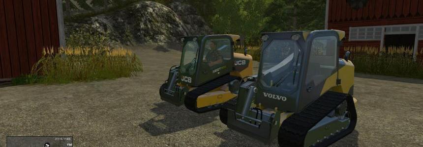 Skidsteer Pack JCB + Volvo