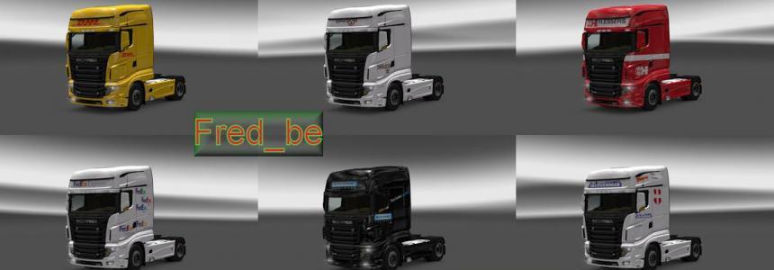 Skin Pack Scania R700 V1.20