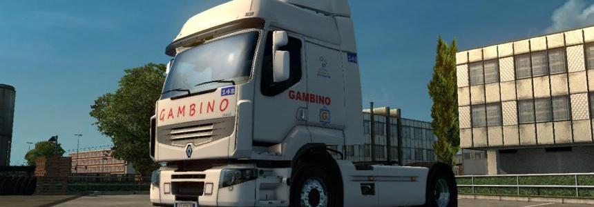 Skin Renault Premium GAMBINO