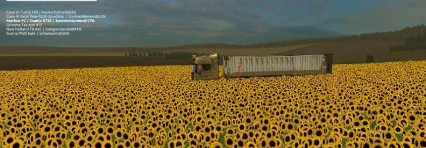 Textures sunflower v1.1