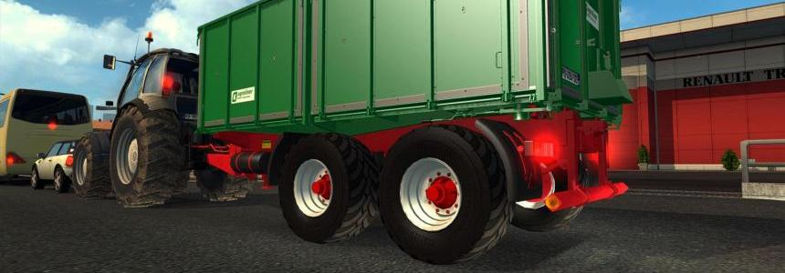 Tractor with Trailer in Traffic v1.1