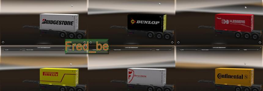 Trailer Pack Container 20ft V1.20