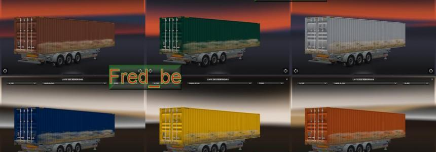 Trailer Pack Container 45ft Dirty V1.20