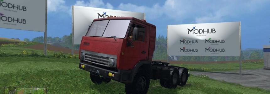 Truck Kamaz 5410 v1.0