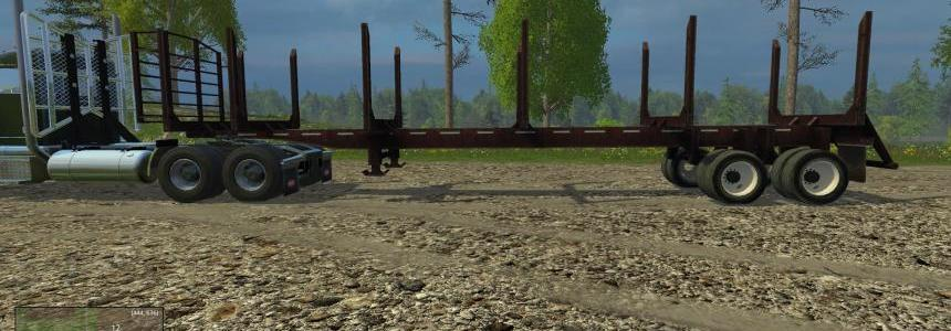 US Log Trailer v1.0