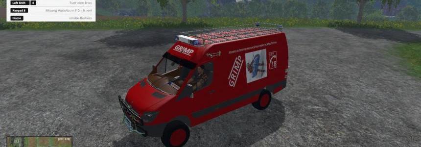 Vehicule du GRIMP v0.1