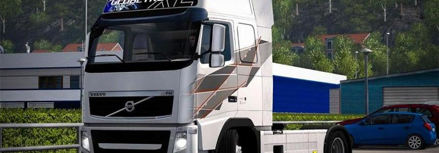 Volvo FH 2009 Time Machine Limited Edition skin