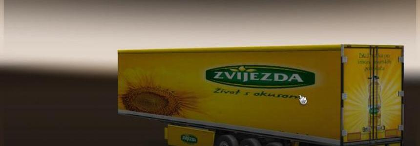 Zvijezda trailer refrigerated trailer v1.0