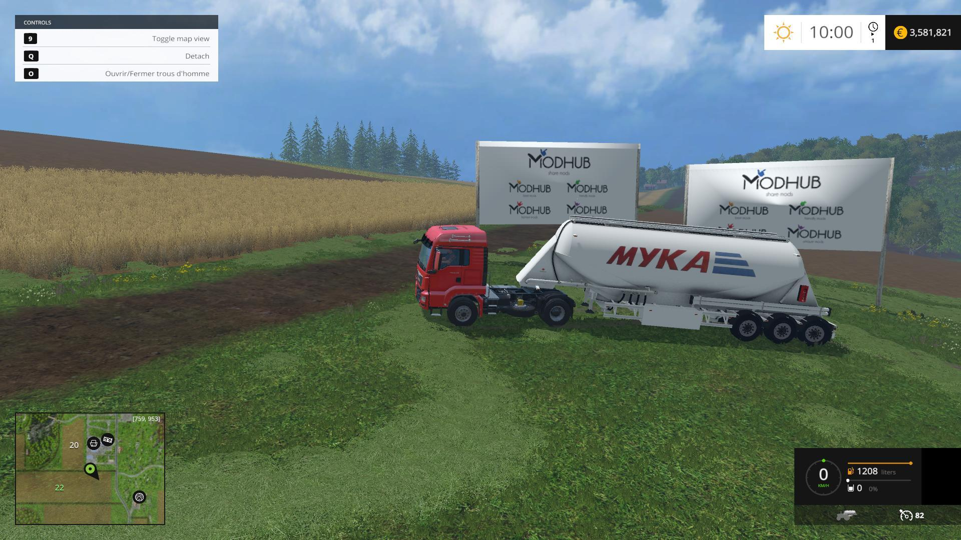 RUS Trailer for flour v1.0