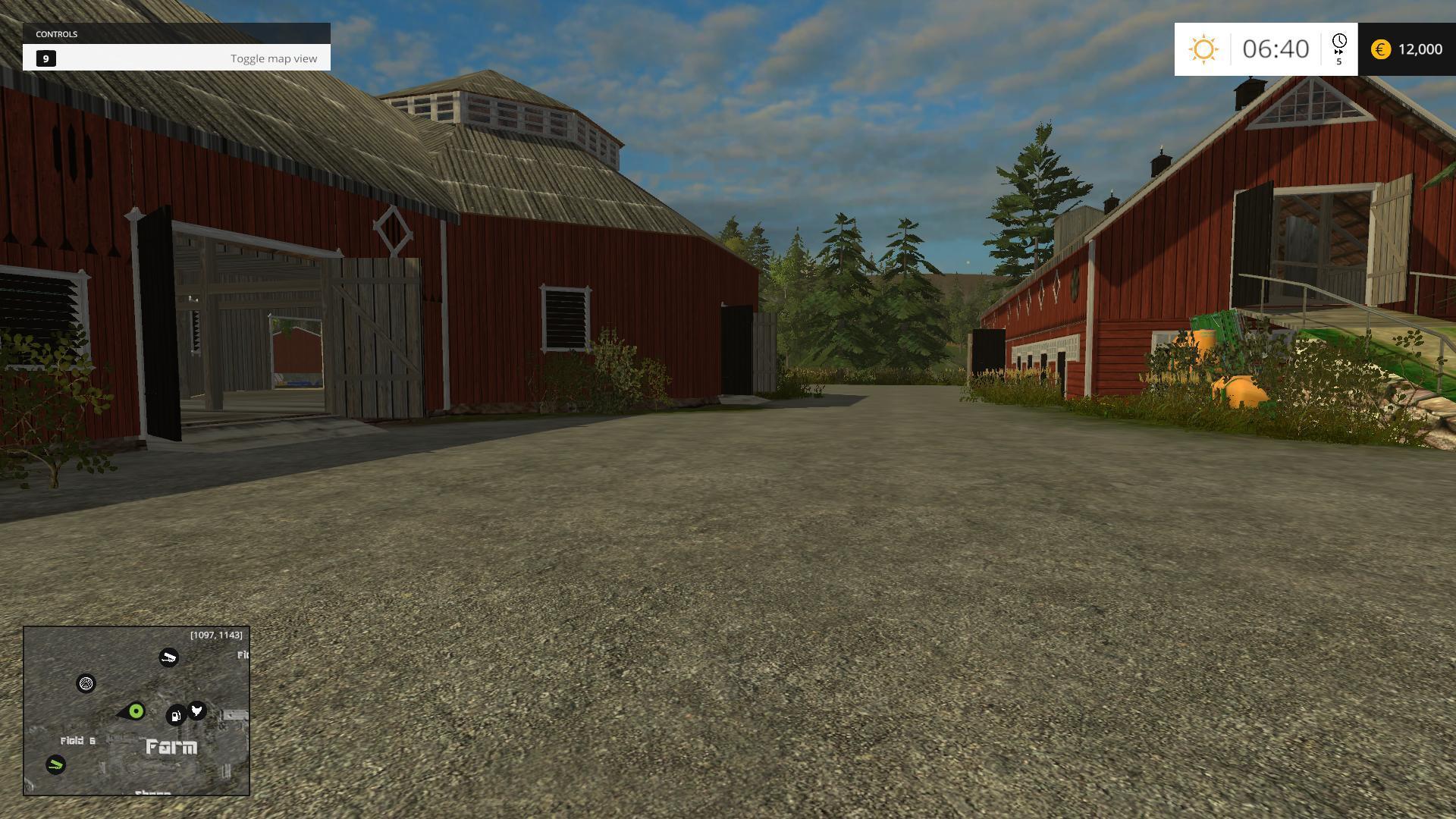 Southern Norway Modhubus - Southern norway map fs15
