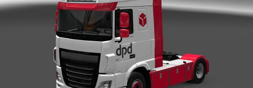 DPD Skin for DAF XF Euro6 1.0