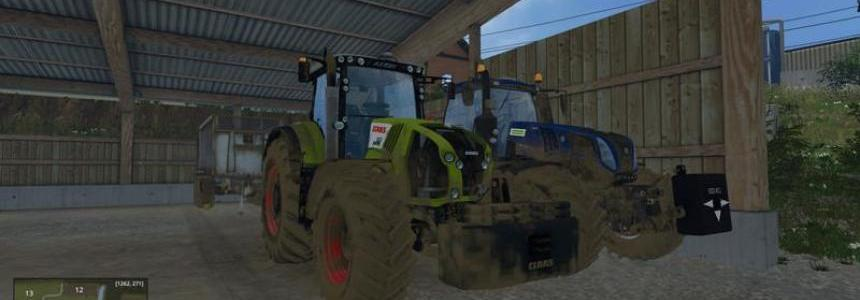 CLAAS Axion 850 Sound Update v1
