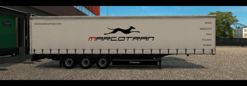 Re-edited Krone Profi Liner - Marcotran 1.0