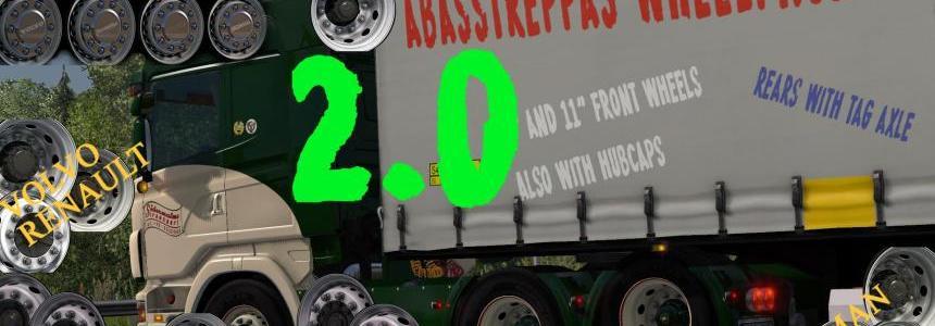 Abasstreppas wheelpack v2.0