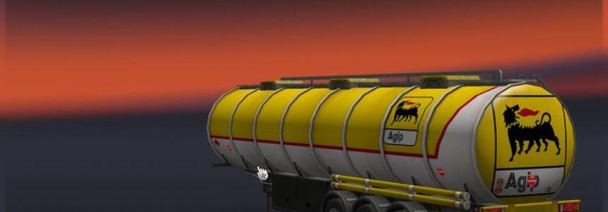 Agip Tanktrailer v1.0
