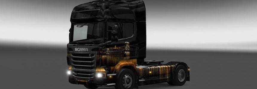 Budapest Night Skin for all Trucks