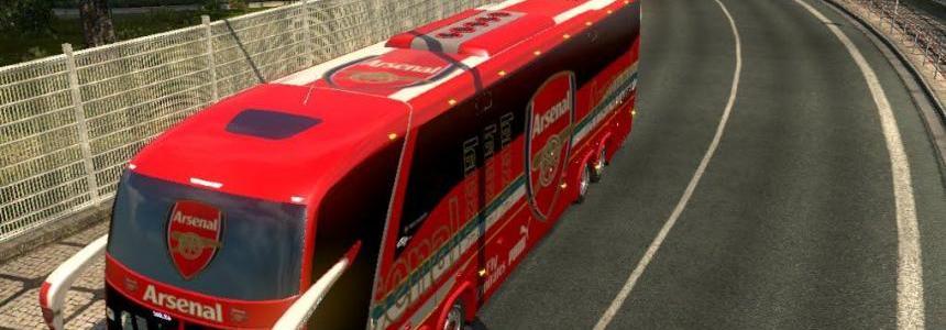 Bus Macropolo G7 1600LD Arsenal Skin