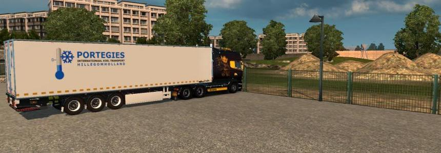 Chereau Trailer with tailgate 1.21